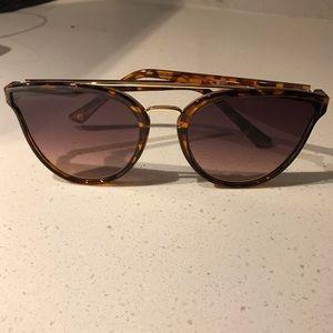 Anthropologie Tortoise Cat Eye Sunglasses